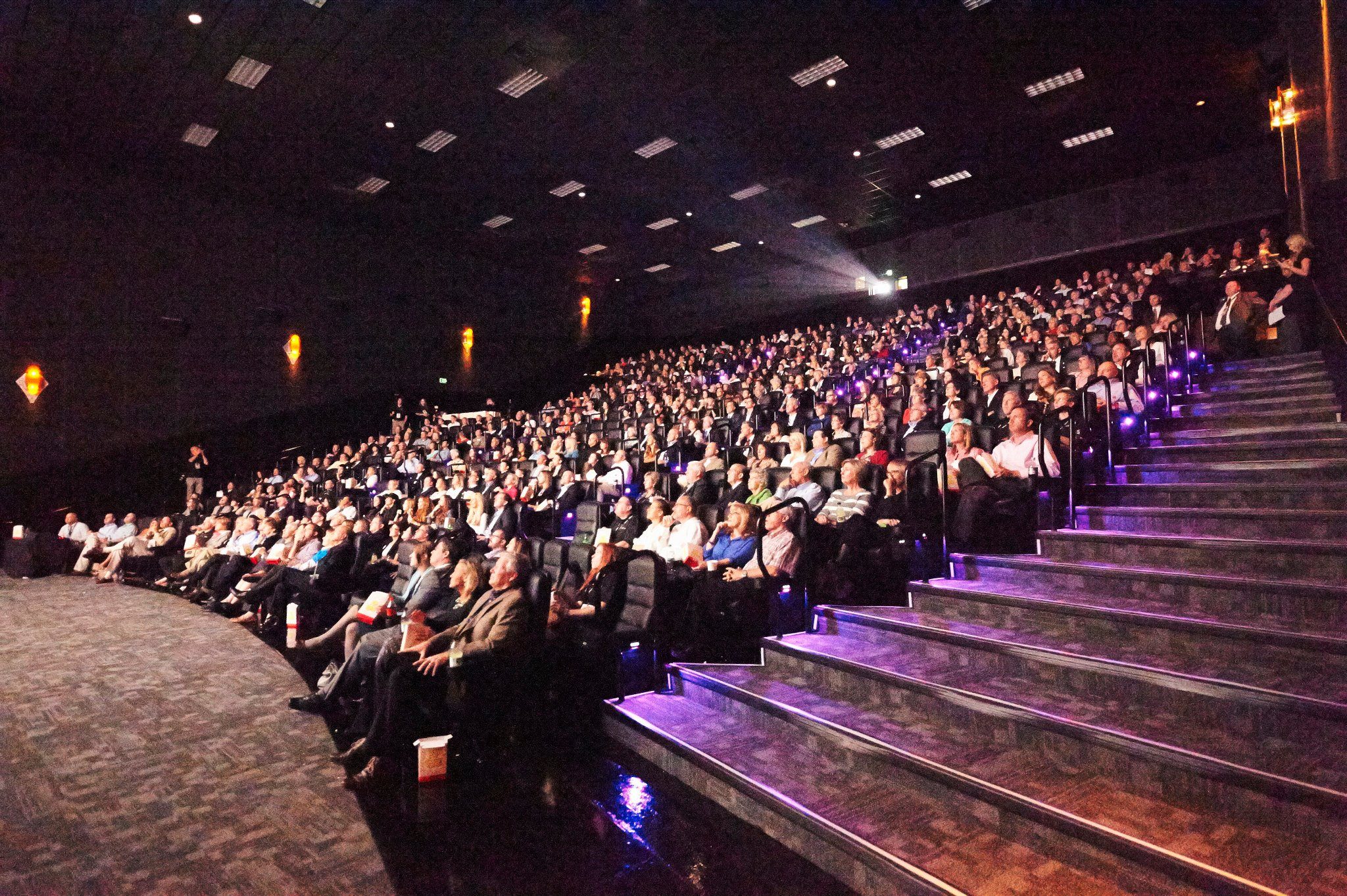 "Theaters in Utah were full, and box office sales soared for ""Meet the Mormons."" The premiere, as pictured here, was held in the first of 350 theaters during the run of the film. (John Dye)"