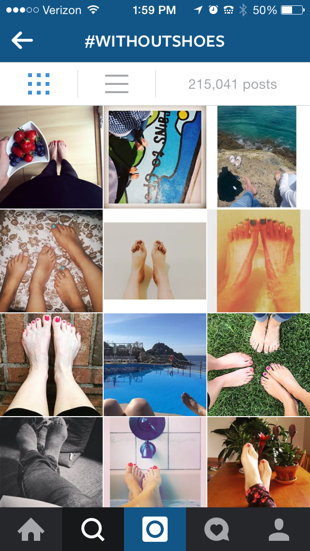 As a result of their #withoutshoes campaign, TOMS donated 296,243 pairs of shoes. (@TOMS Instagram)