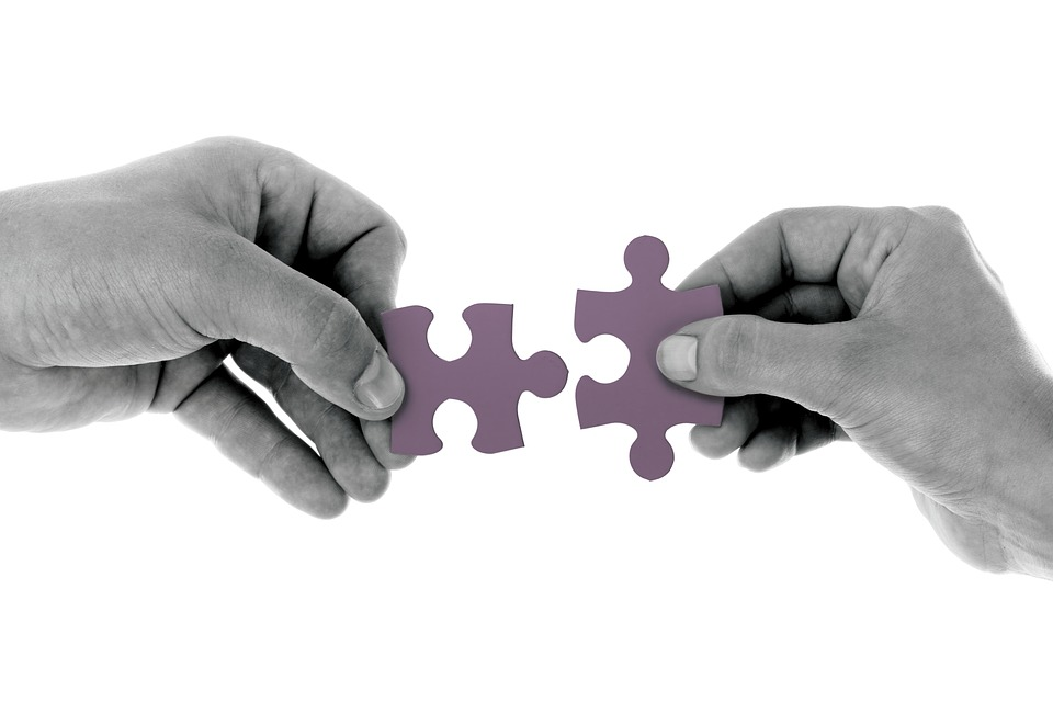 Tyson uses the analogy of a puzzle to describe the planning process. An event comes together piece by piece. (Source: pixabay.com)