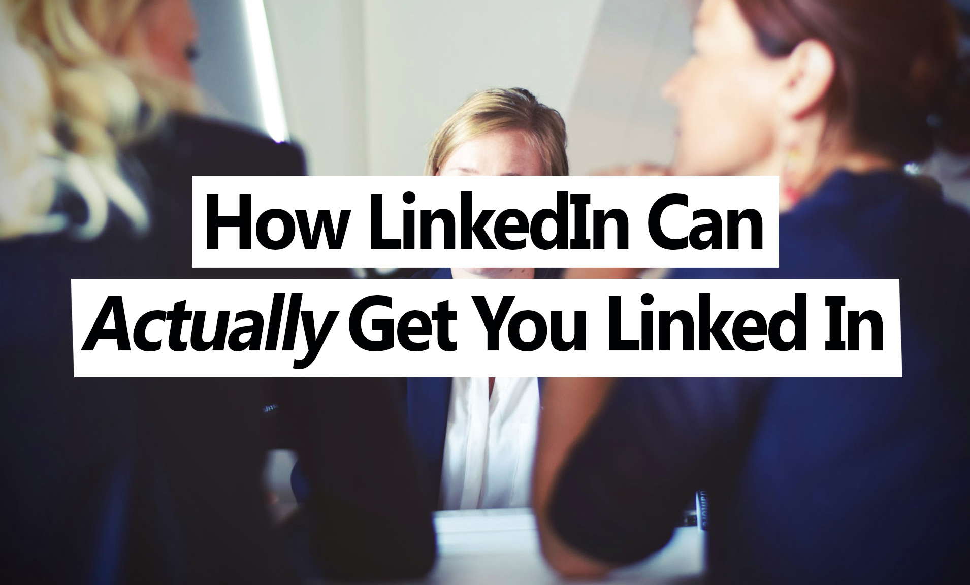 LinkedIn could be the greatest tool to finding a job in today's world, but very few millennials fully grasp its significance (Source: Tim Gouw)
