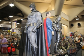 Thousands gather every year at the Salt Lake City Comic Con. Obscurity can help to draw attention that you wouldn't otherwise receive. (Source: Shutterstock)
