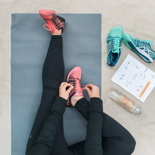 Staying active and healthy can positively influence every aspect of your life. Taking care of your mind and body will allow you to perform your best in the workplace. (Photo source: Jenna Kutcher)