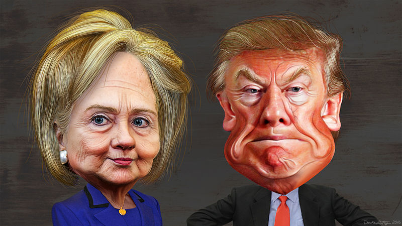 Previous presidential candidates Hillary Clinton and Donald Trump committed some communications errors that could have been easily avoided. (Photo Source: Common Dreams)