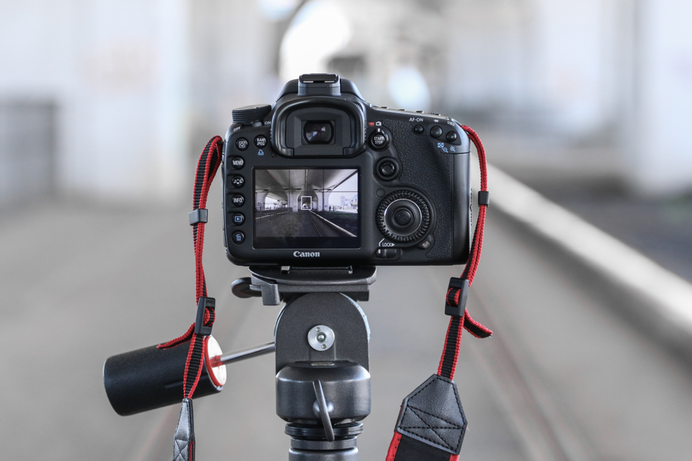 Get a tripod. Shaky footage is unprofessional, and incredibly hard to fix. Image Source: Unsplash.com/@alexandru_stavrica
