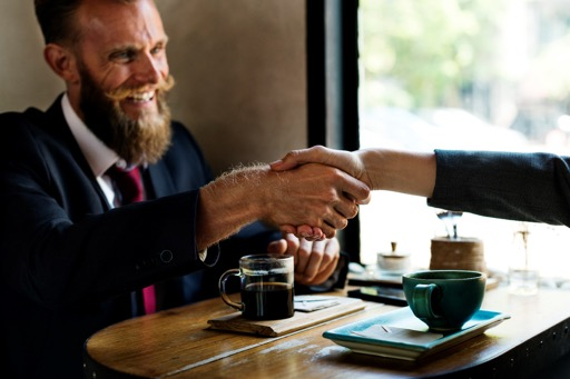 These five steps will give you what you need to shake your interviewer's hand with confidence. Picture courtesy of Pexels.com