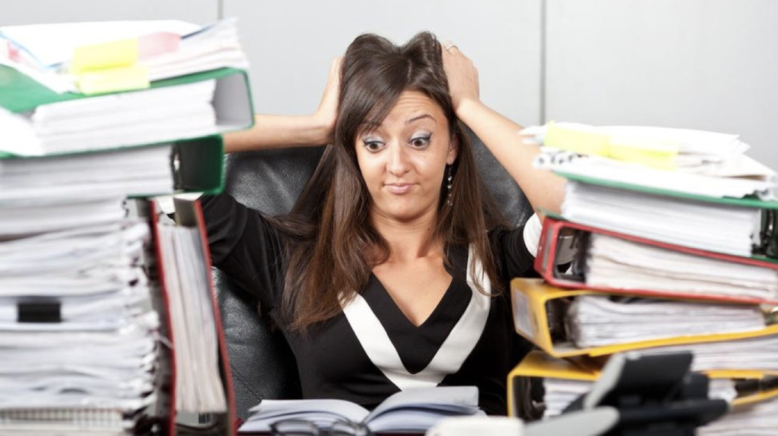 """In 2012, 65 percent of Americans cited work as a top source of stress, according to the American Psychological Association's (APA) annual Stress in America Survey. Only 37 percent of Americans surveyed said they were doing an excellent or very good job managing stress."" Photo credit: APA"